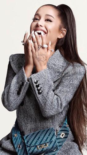 Ariana Grande 2020 Beautiful Smile 4K Ultra HD Mobile Wallpaper