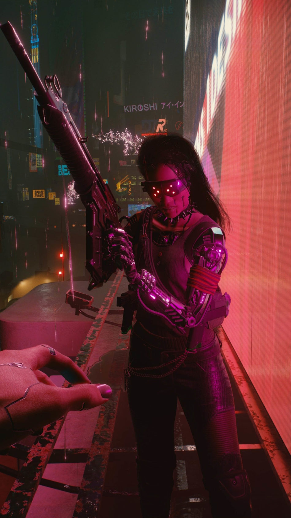 Cyberpunk 2077 2020 Game Poster 4K Ultra HD Mobile Wallpaper
