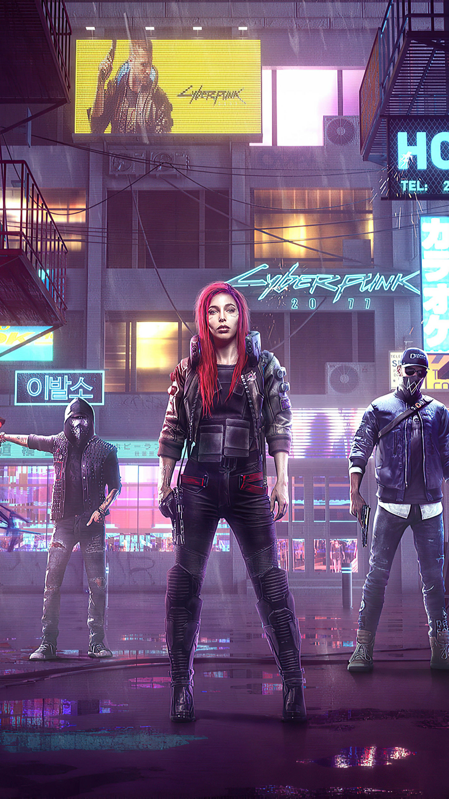 Cyberpunk 2077 New 2020 Game Poster 4K Ultra HD Mobile