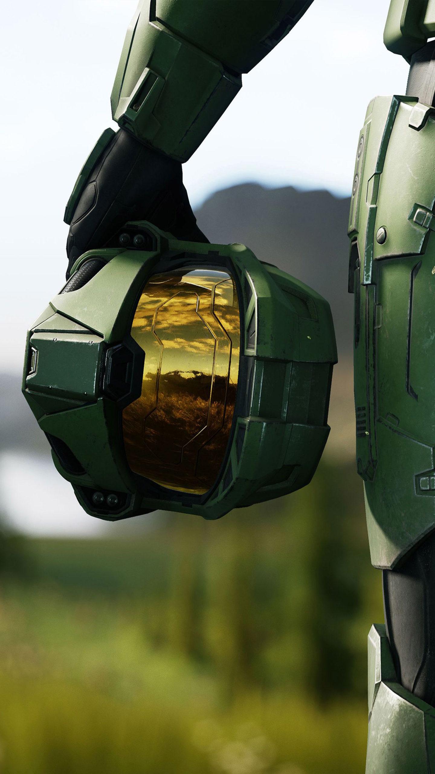 Halo Infinite 2020 Helmet 4K Ultra HD Mobile Wallpaper