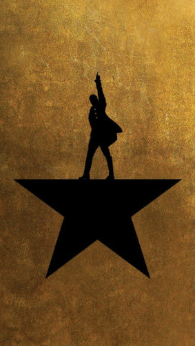 Hamilton Poster 4K Ultra HD Mobile Wallpaper