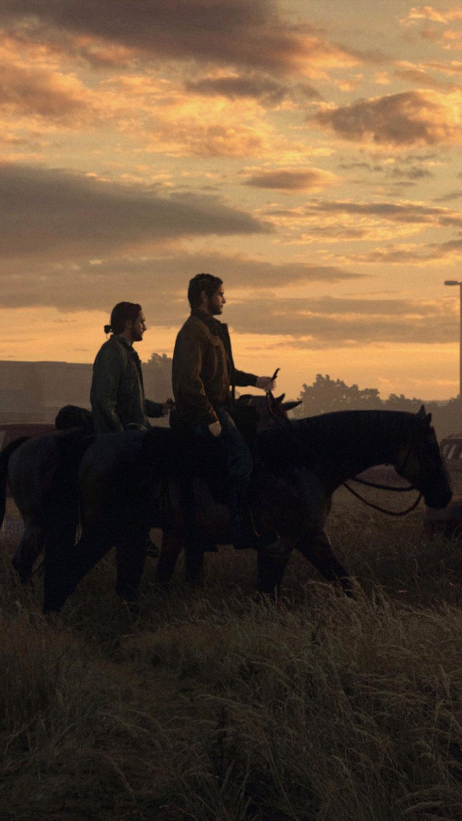 Joel & Tommy The Last of Us 2 4K Ultra HD Mobile Wallpaper