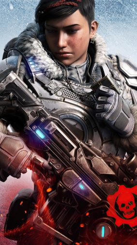 Kait Diaz Gears 5 2020 4K Ultra HD Mobile Wallpaper