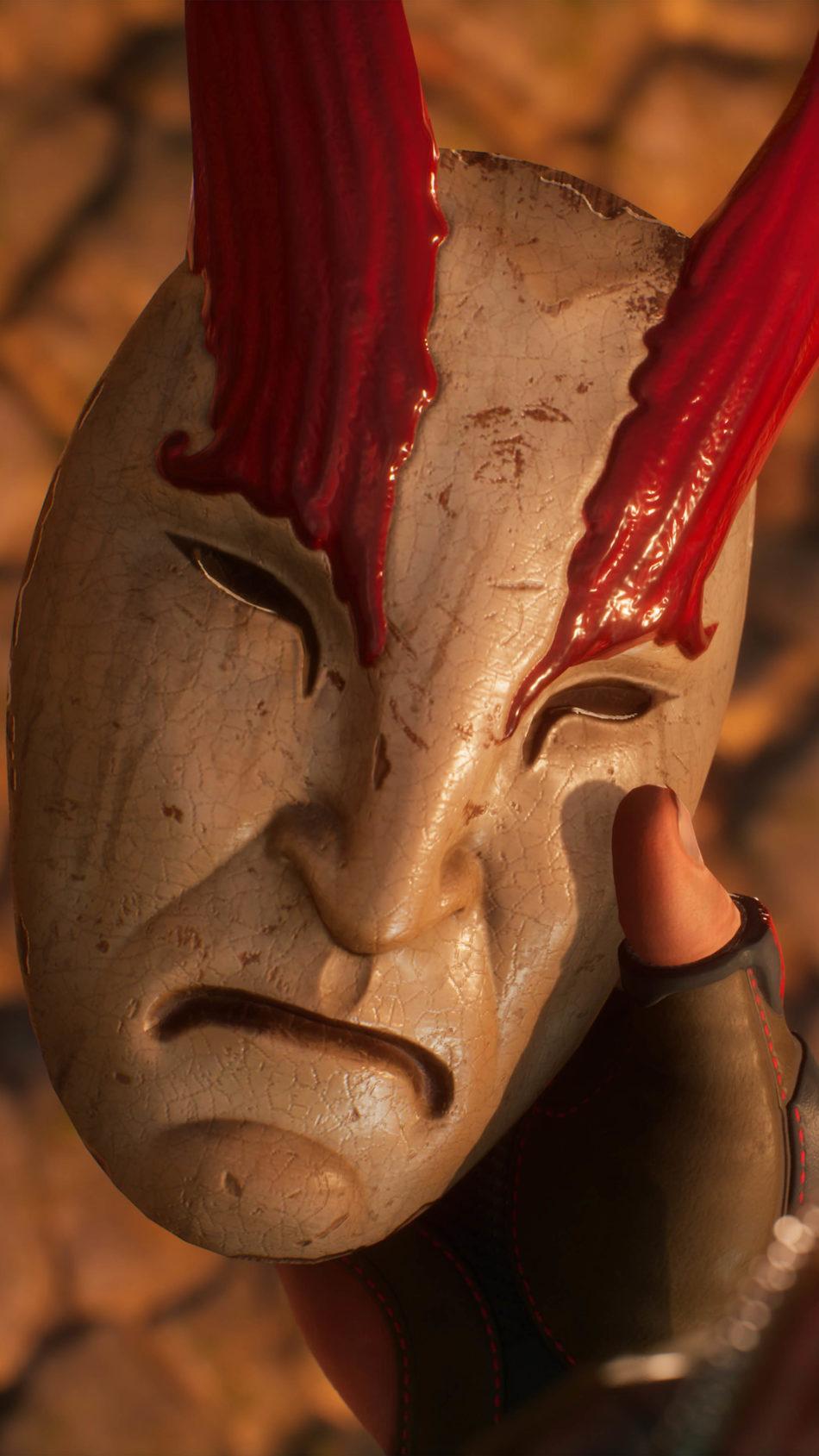 Shadow Warrior 3 Game Mask 4K Ultra HD Mobile Wallpaper