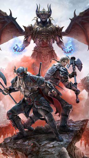 The Elder Scrolls Online Greymoor Poster 4K Ultra HD Mobile Wallpaper