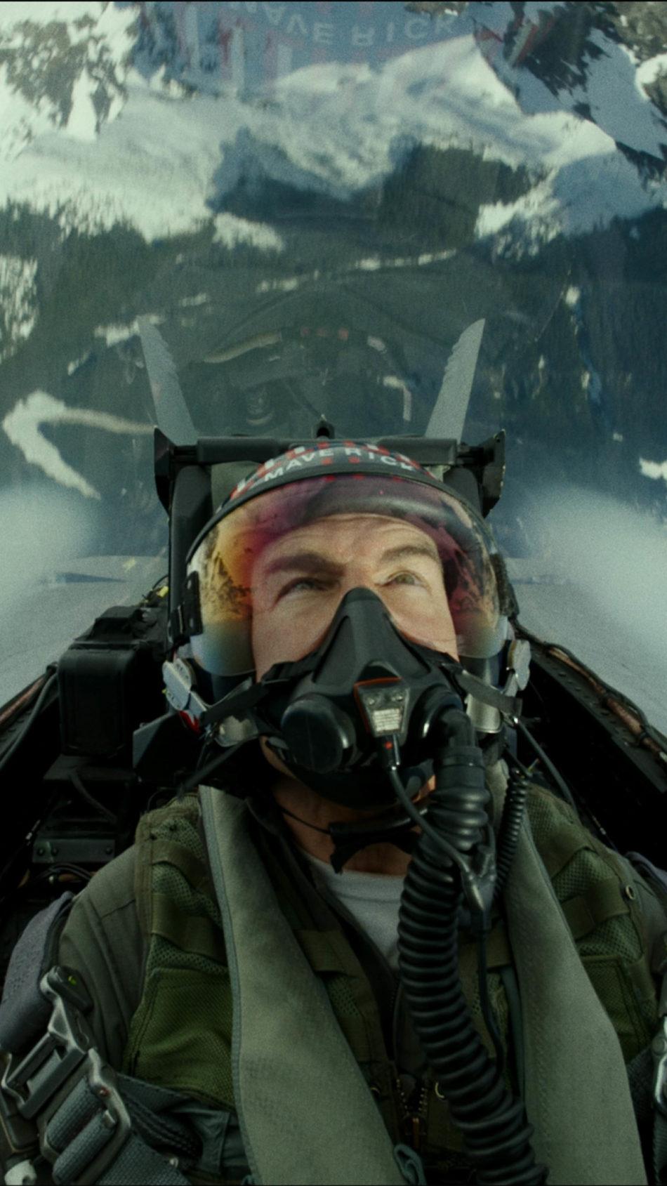 Top Gun Maverick Tom Cruise Jet Flight 4K Ultra HD Mobile Wallpaper