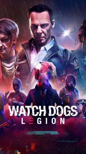 Watch Dogs Legion 2020 Game Poster 4K Ultra HD Mobile Wallpaper