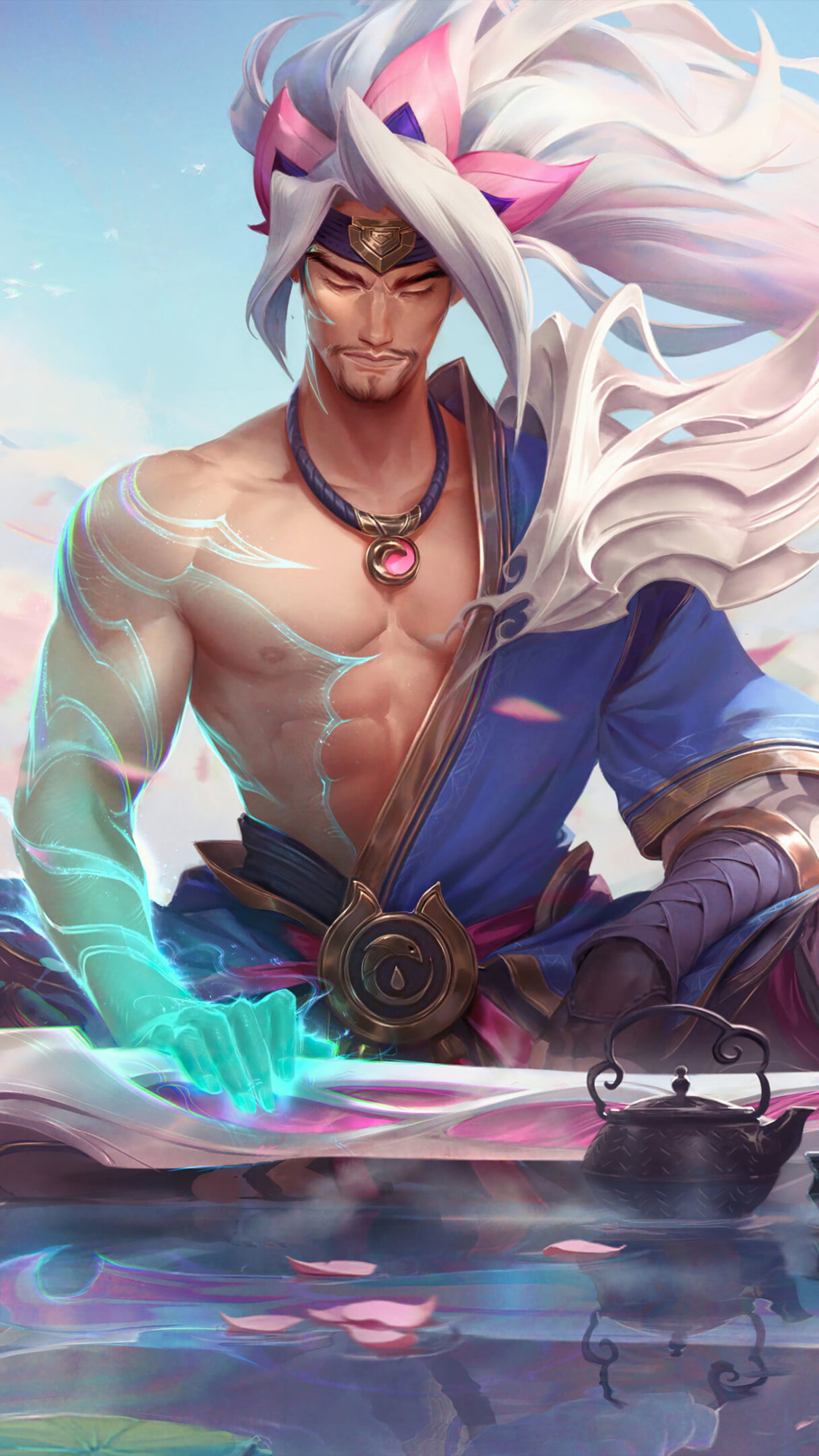 Yasuo League of Legends 4K Ultra HD Mobile Wallpaper