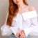 Madelaine Petsch Cute Smile In White Dress 4K Ultra HD Mobile Wallpaper