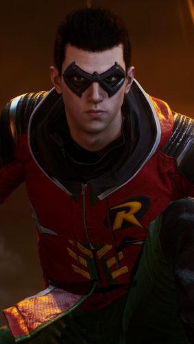 Robin Gotham Knights Game 4K Ultra HD Mobile Wallpaper