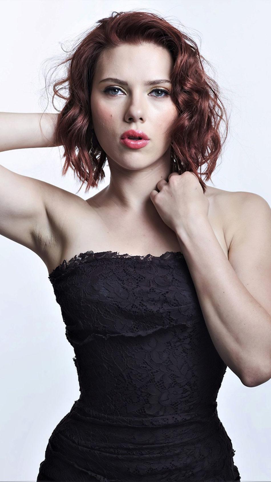 Scarlett Johansson New Photoshoot 4K Ultra HD Mobile Wallpaper