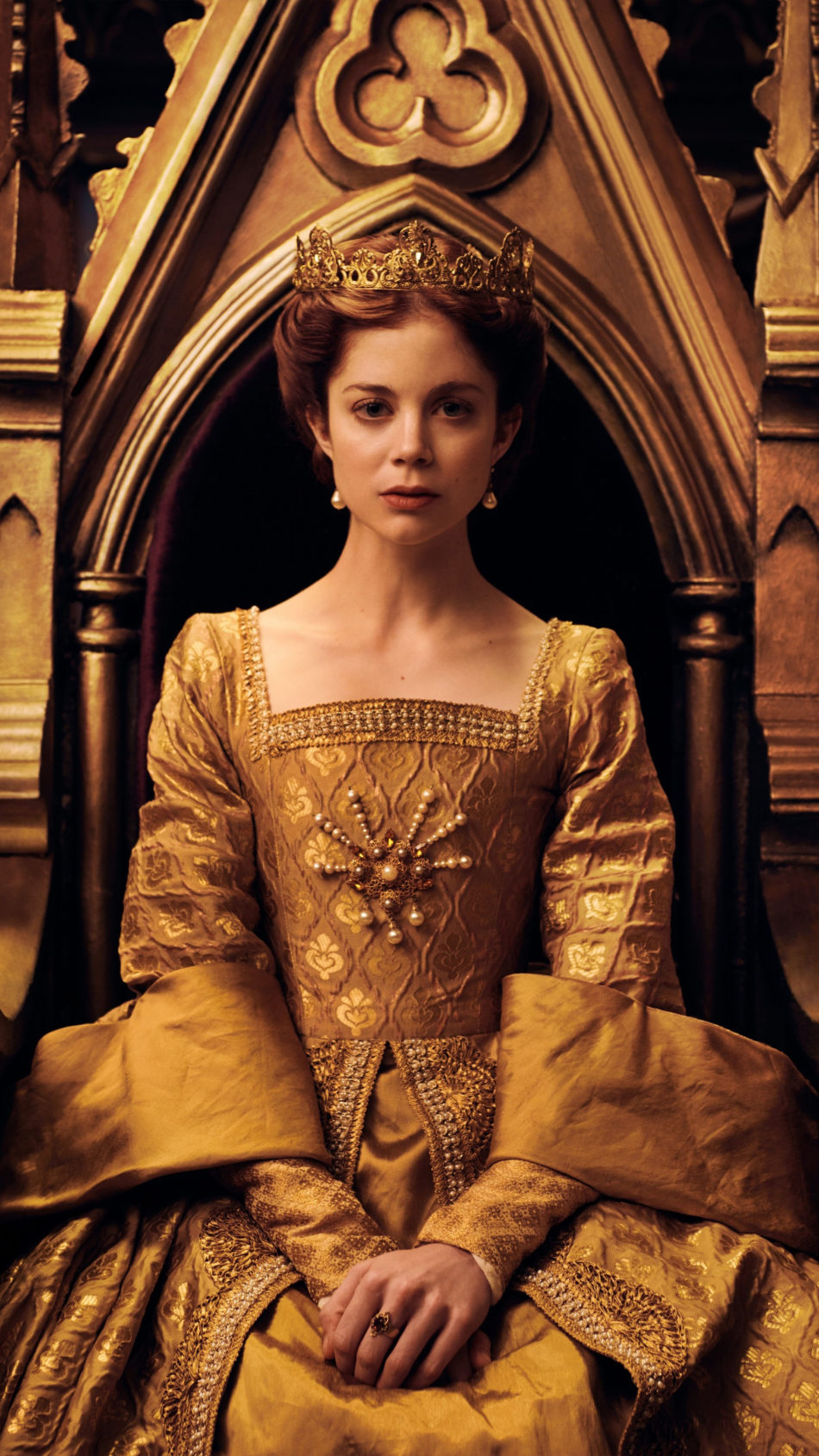 Charlotte Hope In The Spanish Princess 4K Ultra HD Mobile Wallpaper