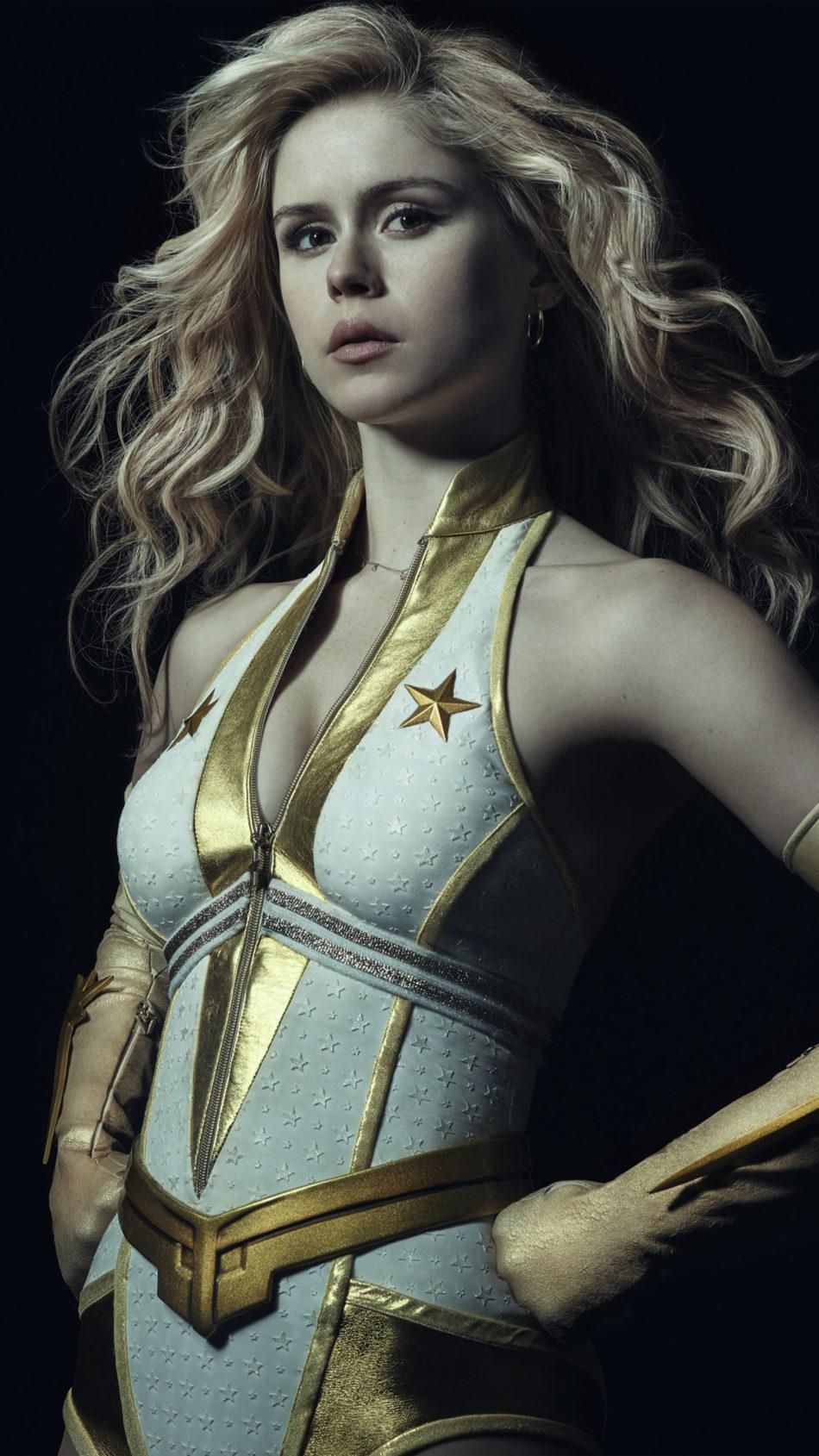 Erin Moriarty As Starlight 4K Ultra HD Mobile Wallpaper