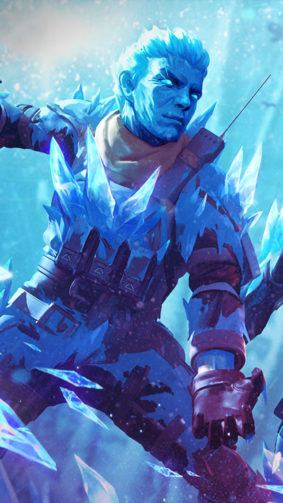 Icy Skin Garena Free Fire 4K Ultra HD Mobile Wallpaper