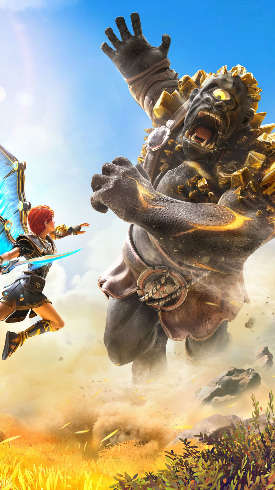 Immortals Fenyx Rising Game Poster 4K Ultra HD Mobile Wallpaper