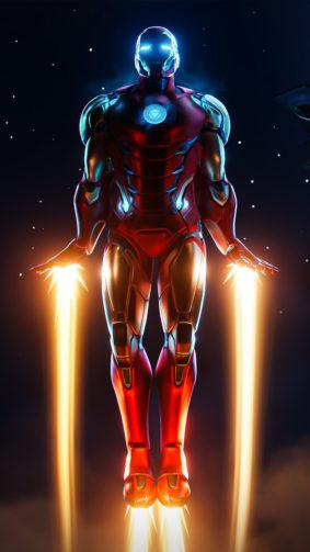 Iron Man Fortnite 4K Ultra HD Mobile Wallpaper