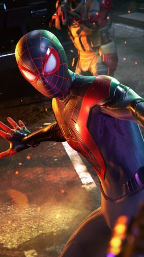 Marvel's Spider-man Miles Morales 4K Ultra HD Mobile Wallpaper