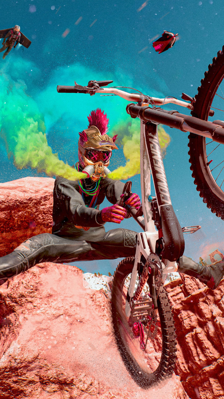 Riders Republic Game 4K Ultra HD Mobile Wallpaper