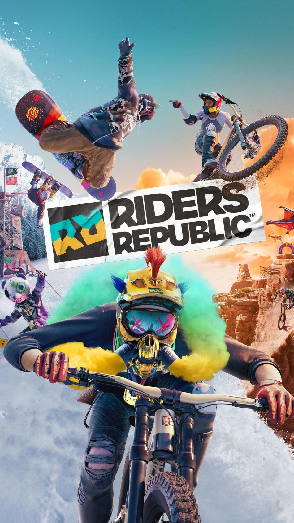 Riders Republic Game Poster 4K Ultra HD Mobile Wallpaper