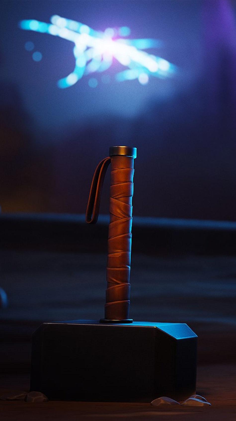 Thor Hammer Fortnite 4K Ultra HD Mobile ...