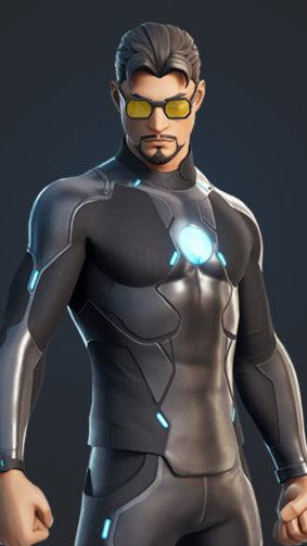 Tony Stark Fortnite 4K Ultra HD Mobile Wallpaper