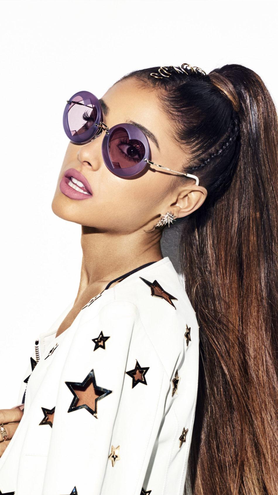 Ariana Grande 2020 Heart Sunglasses 4K Ultra HD Mobile Wallpaper