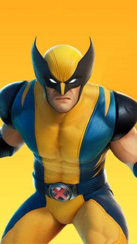 Fortnite Wolverine 4K Ultra HD Mobile Wallpaper