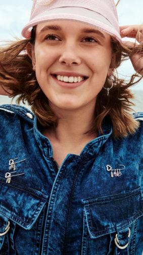 Happy Millie Bobby Brown 2020 4K Ultra HD Mobile Wallpaper