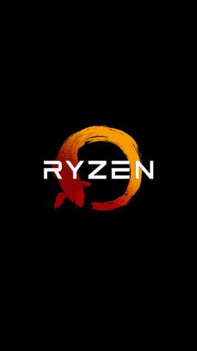 Ryzen Logo 2020 4K Ultra HD Mobile Wallpaper