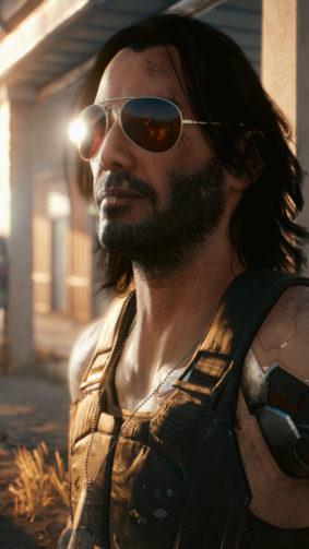 Keanu Reeves Cyberpunk 2077 2020 4K Ultra HD Mobile Wallpaper