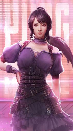 PUBG Girl 2020 Portrait 4K Ultra HD Mobile Wallpaper