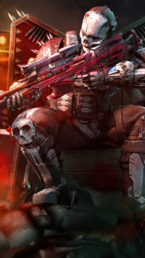 Rune Bone Warrior Call of Duty Mobile 4K Ultra HD Mobile Wallpaper