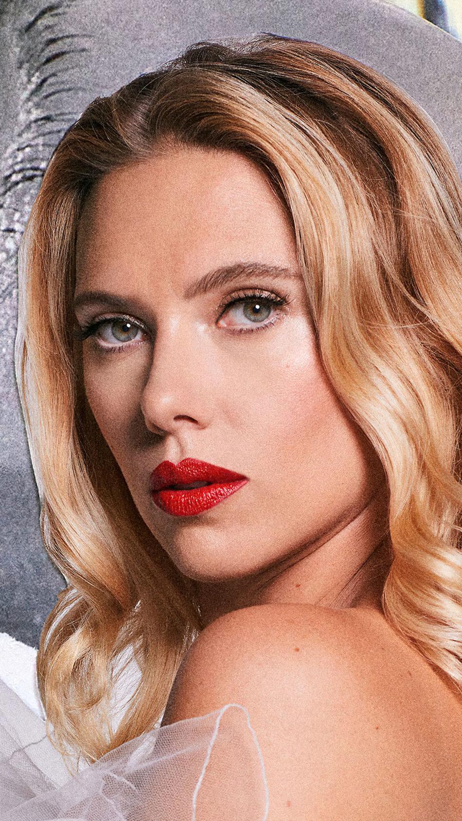 Scarlett Johansson Marie Claire 2020 Photoshoot 4K Ultra HD Mobile Wallpaper