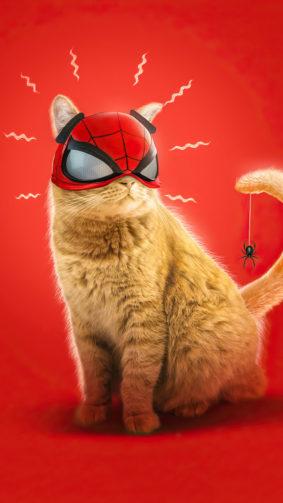 Spider-cat In Spider-man Miles Morales 4K Ultra HD Mobile Wallpaper