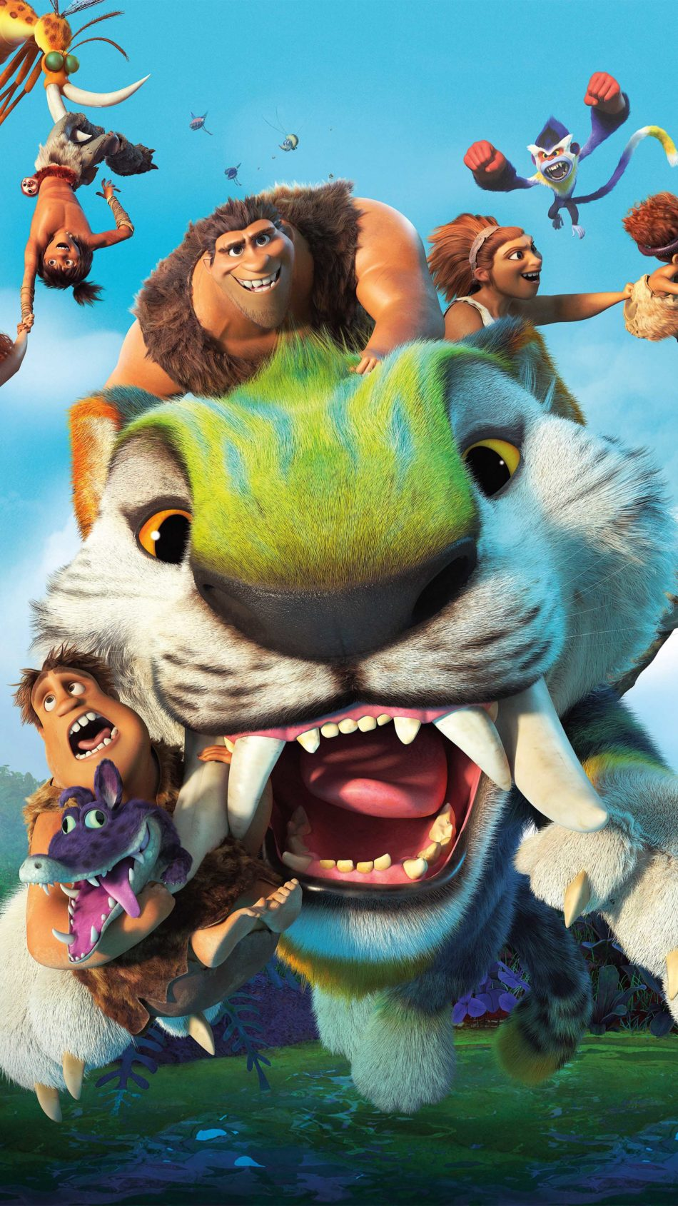 The Croods A New Age 2020 Poster 4K Ultra HD Mobile Wallpaper