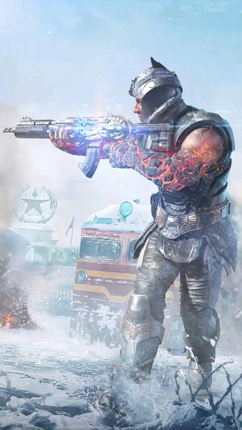 Call of Duty Mobile Season 13 Poster 4K Ultra HD Mobile Wallpaper