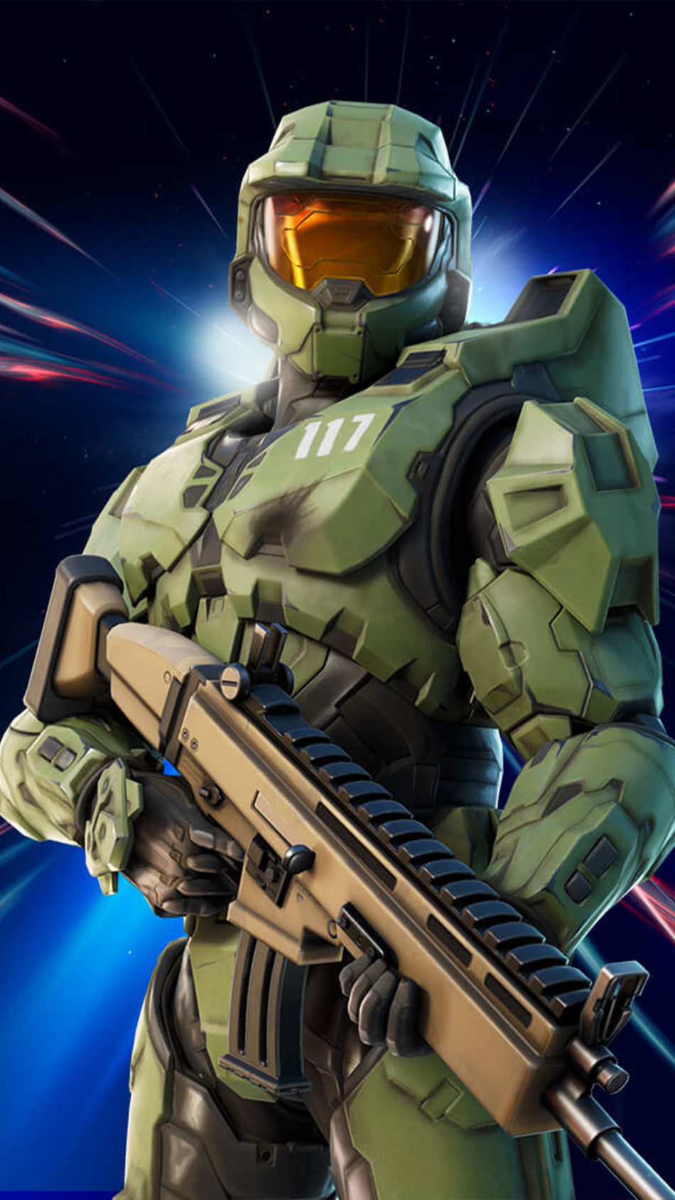 Master Chief Fortnite 4K Ultra HD Mobile Wallpaper