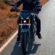 Rider Yamaha MT 15 Highway Landscape 4K Ultra HD Mobile Wallpaper