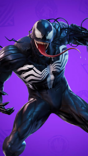 Venom Fortnite 4K Ultra HD Mobile Wallpaper