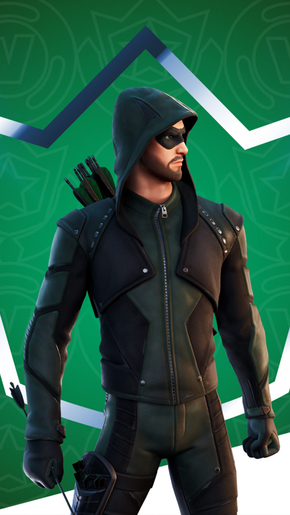 Green Arrow Fortnite 4K Ultra HD Mobile Wallpaper