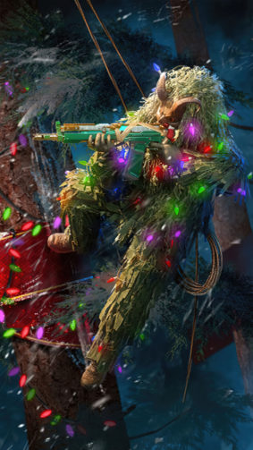 Grinch Call of Duty Mobile 4K Ultra HD Mobile Wallpaper