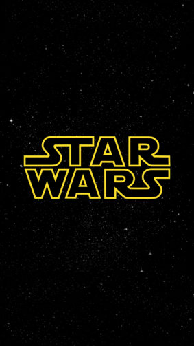 Star Wars Logo 4K Ultra HD Mobile Wallpaper