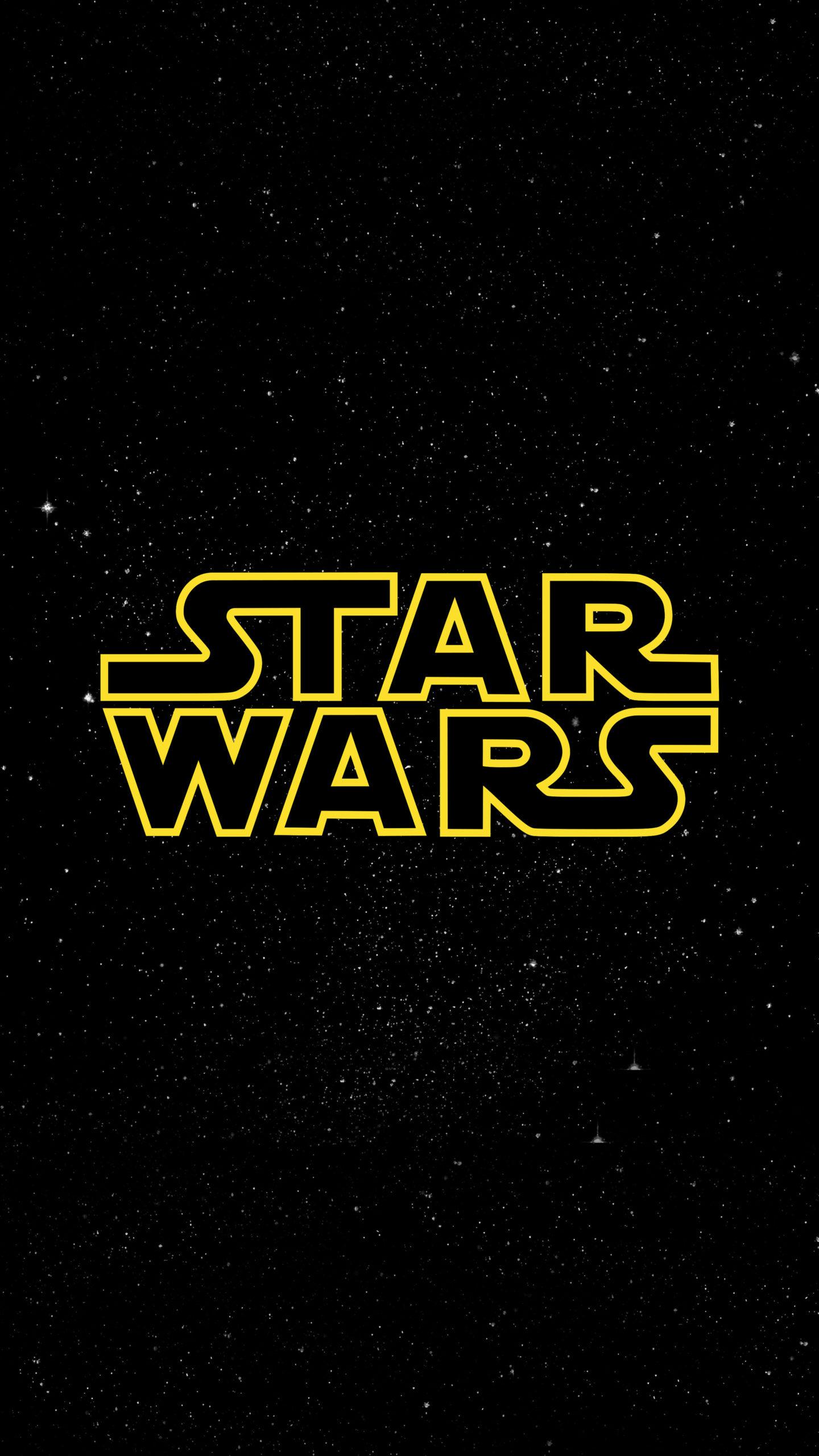 Star Wars Logo 4k Ultra Hd Mobile Wallpaper