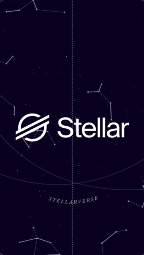 Stellar Lumens Cryptocurrency Logo 4K Ultra HD Mobile Wallpaper