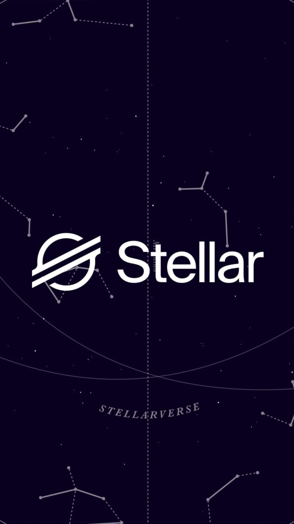 Stellar Lumens Cryptocurrency Logo 4K Ultra HD Mobile Wallpaper
