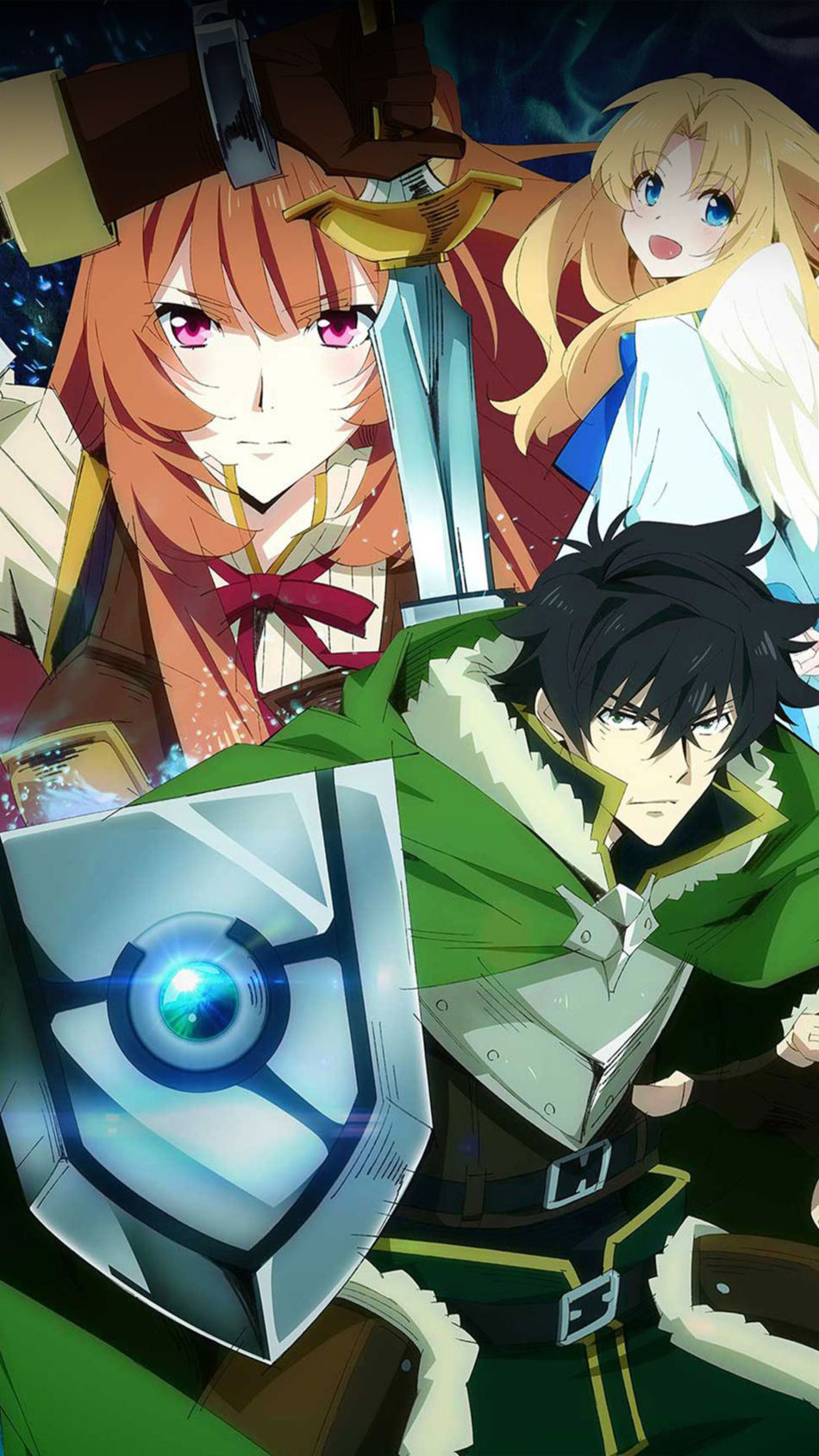 The Rising of The Shield Hero Poster 4K Ultra HD Mobile Wallpaper