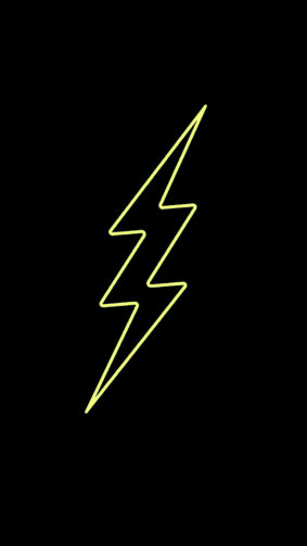 Yellow Flash 4K Ultra HD Mobile Wallpaper
