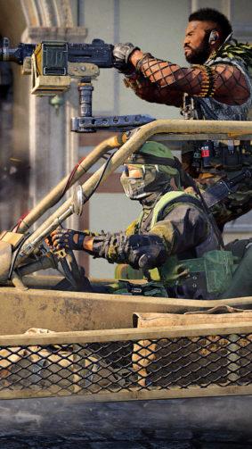 Buggy Machine Gun Fire Call of Duty Black Ops Cold War 4K Ultra HD Mobile Wallpaper