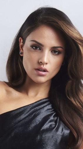 Eiza Gonzalez In Black Dress 4K Ultra HD Mobile Wallpaper