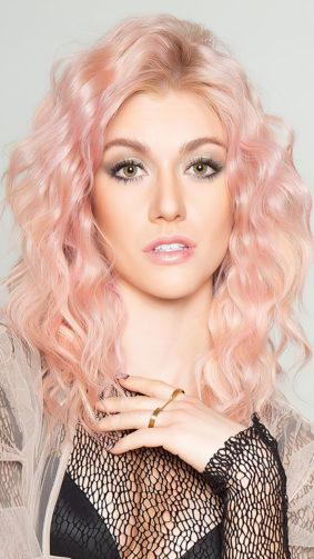 Katherine McNamara Blonde Hair Photoshoot 4K Ultra HD Mobile Wallpaper